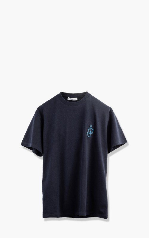 JW Anderson Anchor Patch T-Shirt Navy