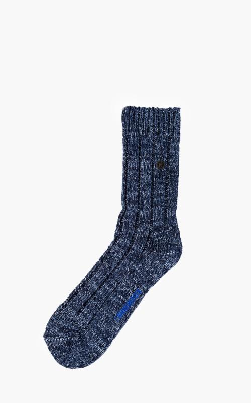 Birkenstock Cotton Fashion Twist Socks Blue
