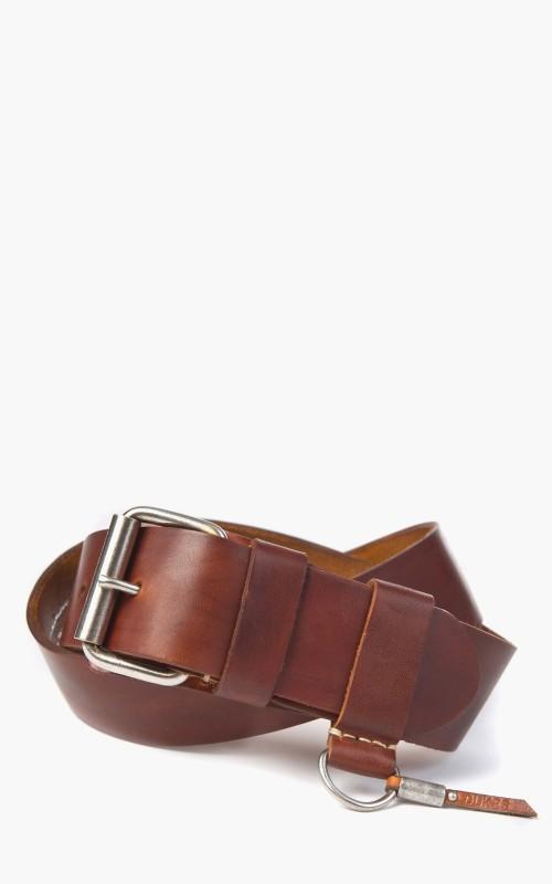 Dukes Plain Belt Middlebrown 4,5cm