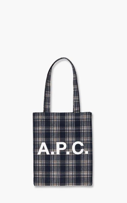 A.P.C. Lou Tote Bag Dark Navy