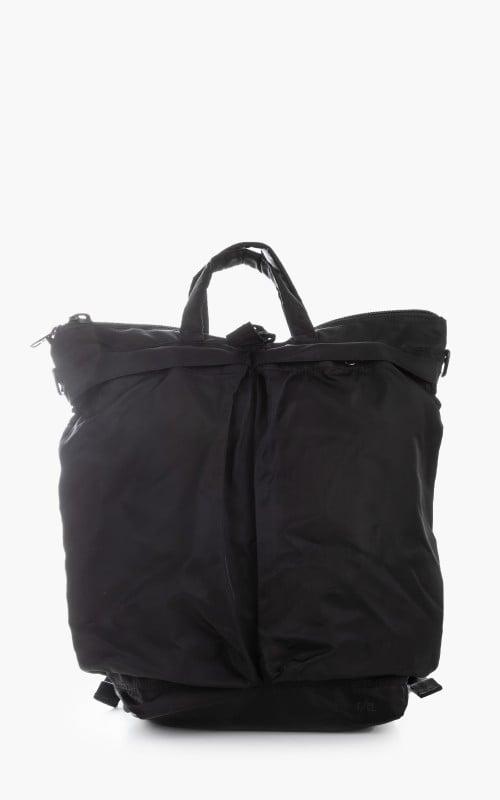 F/CE. Recycle Twill 3Way Helmet Bag Black