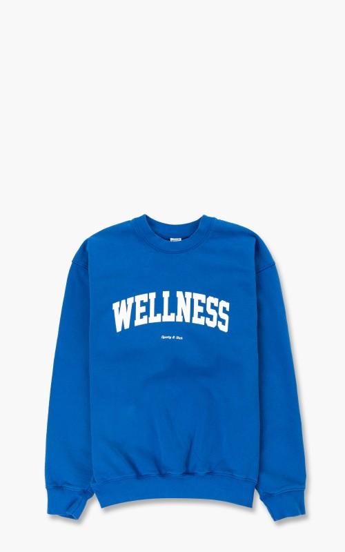 Sporty & Rich Wellness Ivy Crewneck Princess Blue