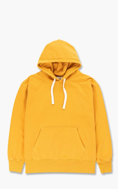 Nigel Cabourn Embroidered Arrow Hoody Racing Gold