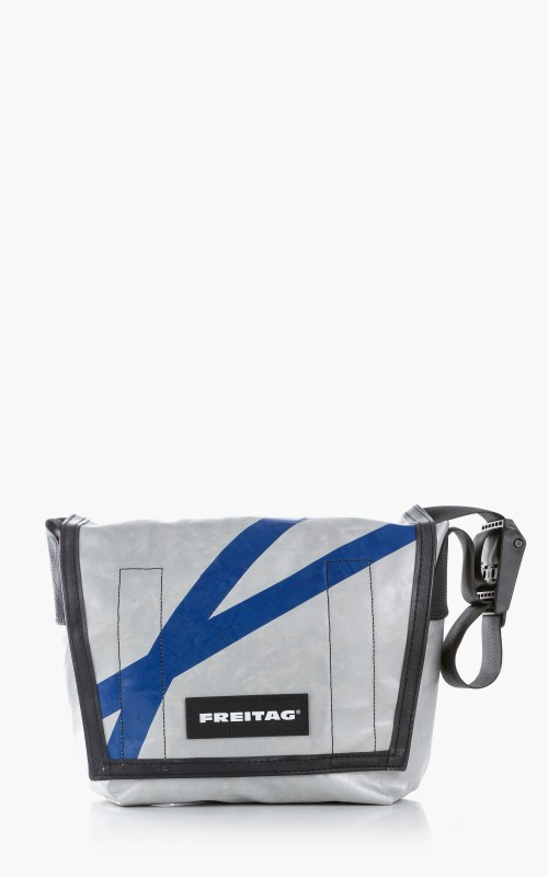 Freitag F11 Lassie Messenger Bag Classic S Silver 6-4