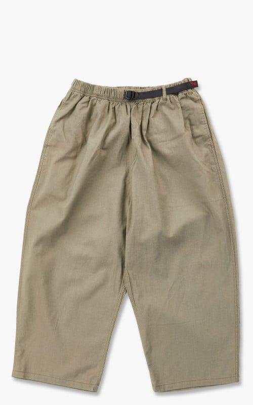 Gramicci Linen Balloon Pants Ash Green