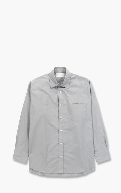 Markaware Tent Shirt Organic Cotton Shirting Soktas Grey