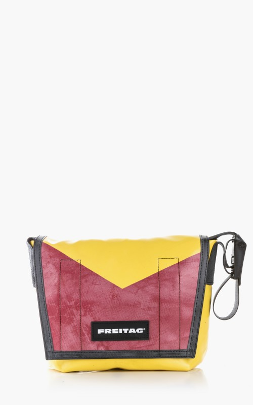 Freitag F11 Lassie Messenger Bag Classic S Yellow 6-3