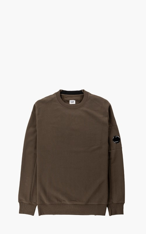 C.P. Company Diagonal Raised Fleece Sweatshirt Ivy Green