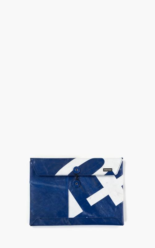 """Freitag F411 Sleeve Padded Laptop Envelope 13"""" Blue 6-4"""