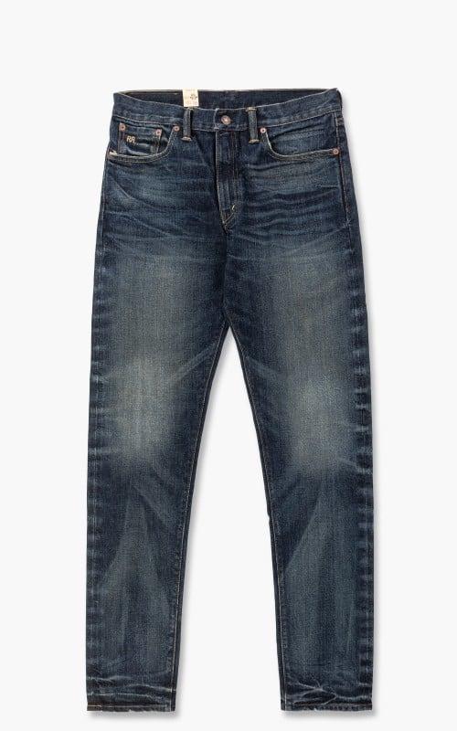 RRL Slim Narrow Selvedge Jeans Mayes Wash