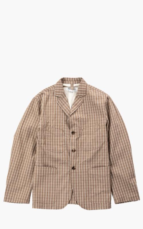 Eastlogue Seersucker Jacket Beige