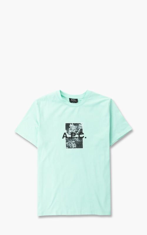 A.P.C. T-Shirt Teddy Green
