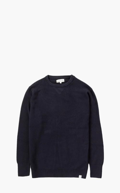 Merz b. Schwanen CCC01 Good Sweatshirt Knit Dark Navy