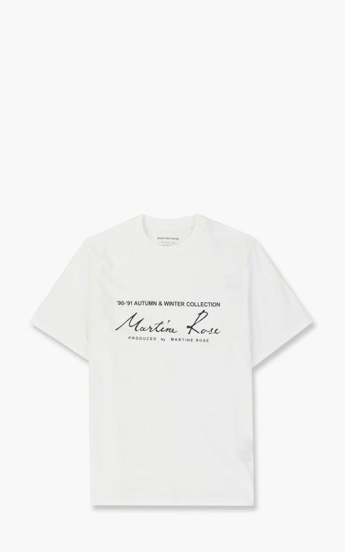 Martine Rose Classic S/S T-Shirt White