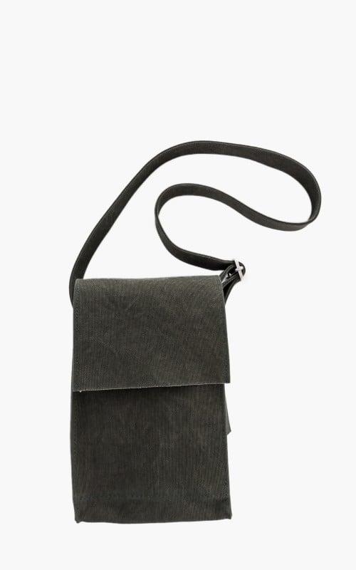 Amiacalva Canvas Shoulder Bag S Khaki