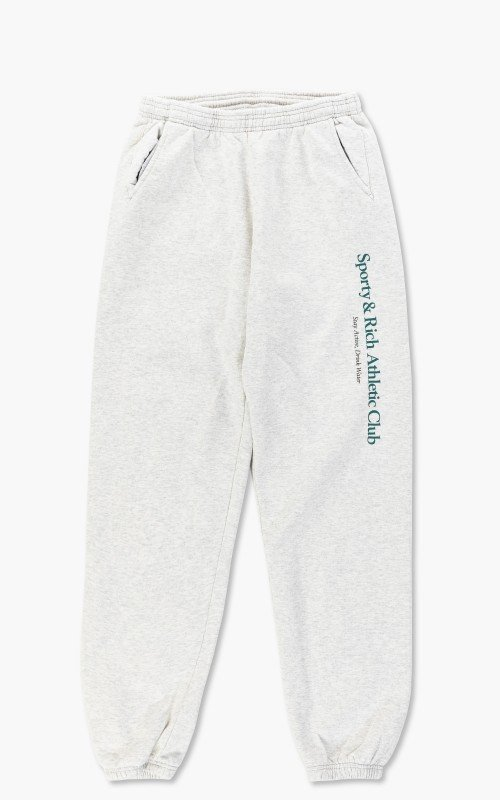 Sporty & Rich Athletic Club Sweat Pant Heather Gray