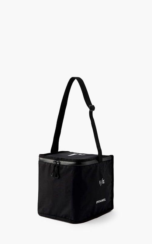 "Digawel Vinyl Cooler Bag 7"" Black"