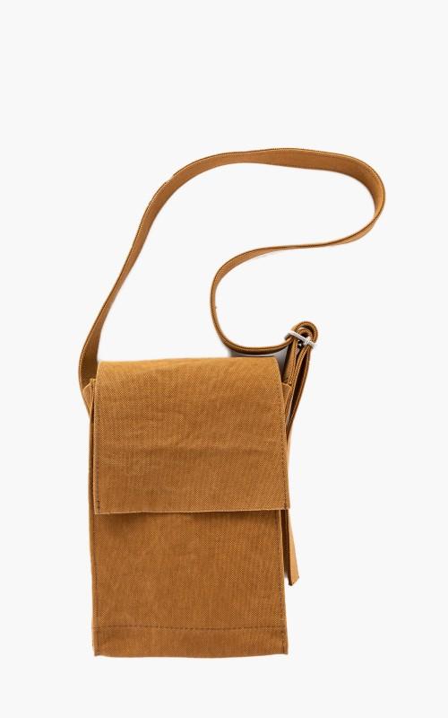 Amiacalva Canvas Shoulder Bag S Mustard