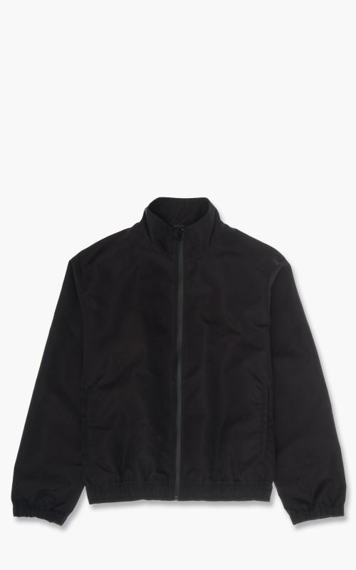 Helmut Lang Logo Track Jacket Basalt Black