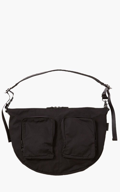 Amiacalva Gabardine Body Bag Black