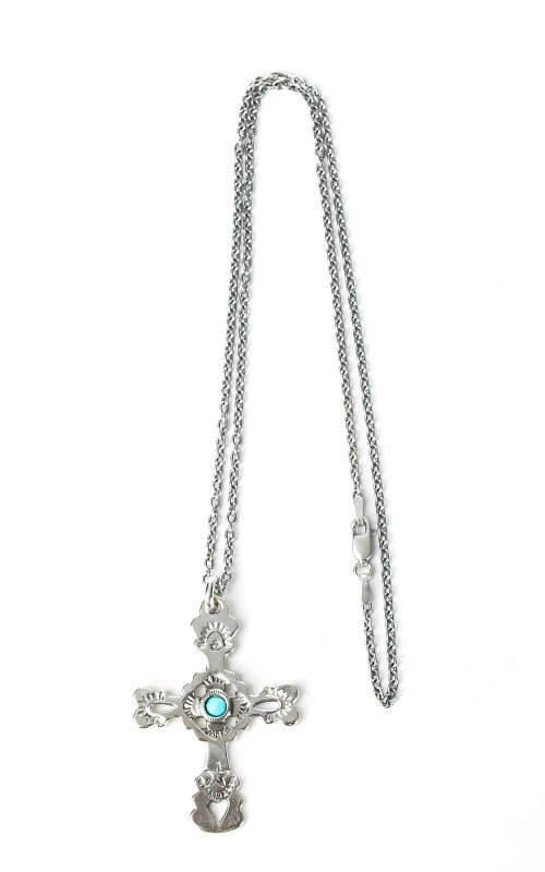 North Works W-029 Necklace 900 Silver Cross