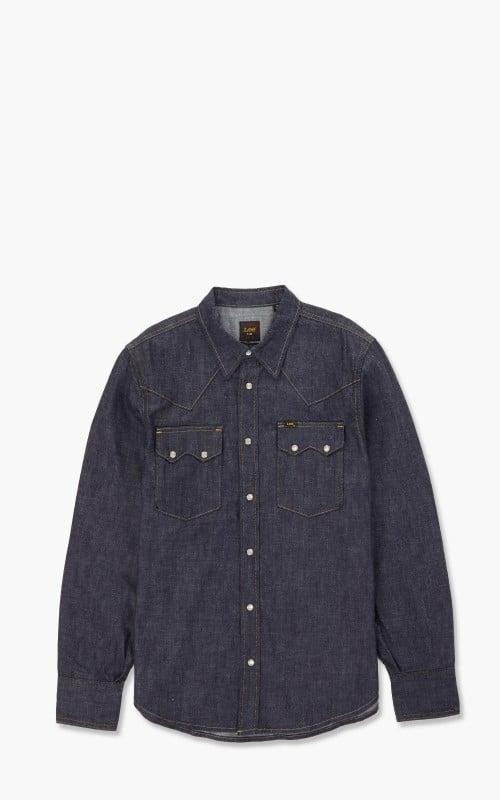 Lee 101 50s Western Shirt Dry Selvedge Indigo
