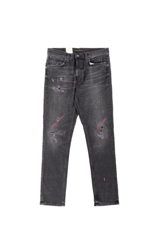 Nudie Jeans Lean Dean Stitch and Paint