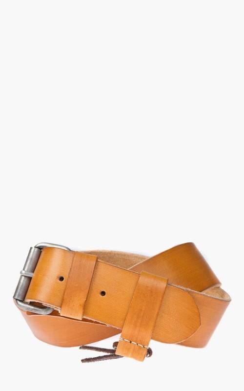 Dukes Plain Belt Cognac 4,5cm