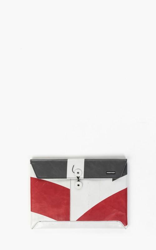 "Freitag F411 Sleeve Padded Laptop Envelope 13"" Red 6-4"