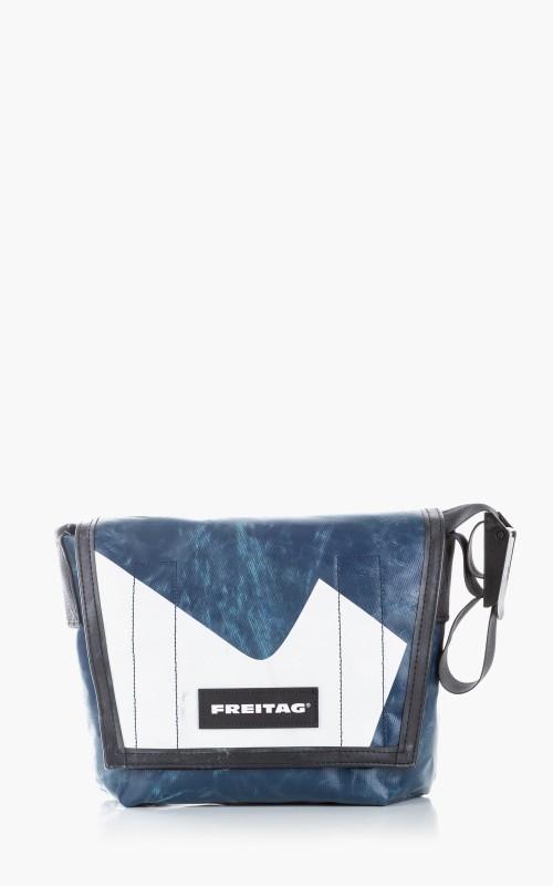 Freitag F11 Lassie Messenger Bag Classic S Blue 6-6