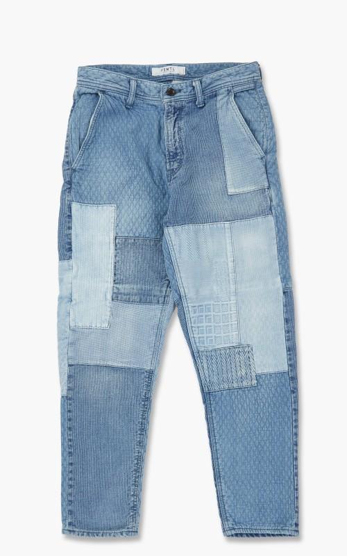 FDMTL Boro Patchwork Pants 3YR Wash Indigo