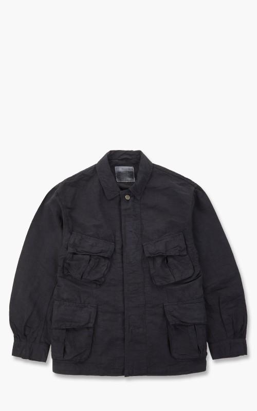 Gypsy & Sons Jungle Fatigue Jacket Black