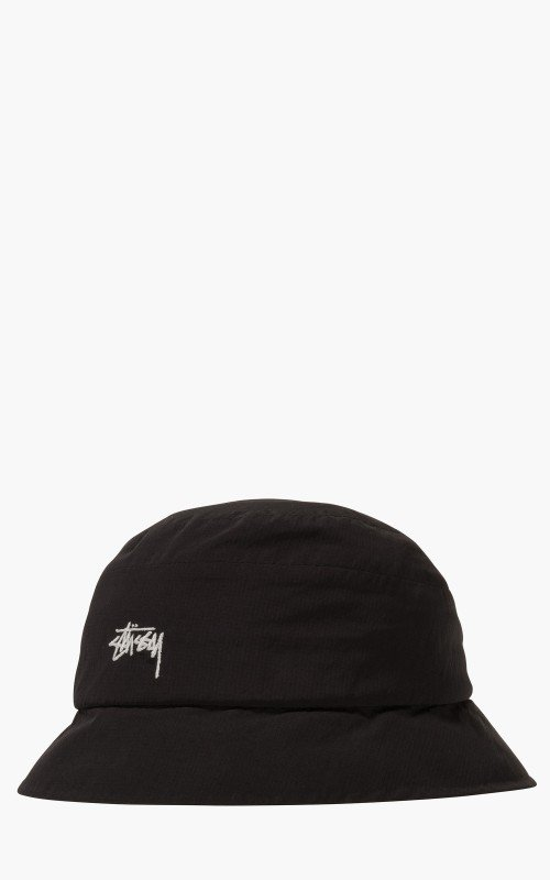 Stüssy Outdoor Panel Bucket Hat Black