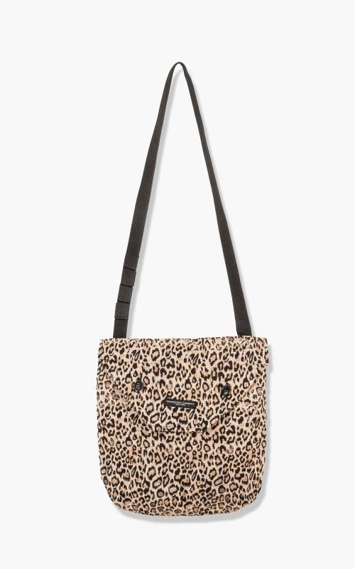 Engineered Garments Shoulder Pouch Leopard Beige