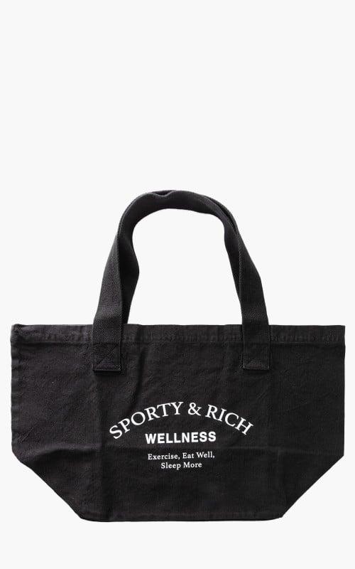 Sporty & Rich Wellness Studio Tote Bag Black