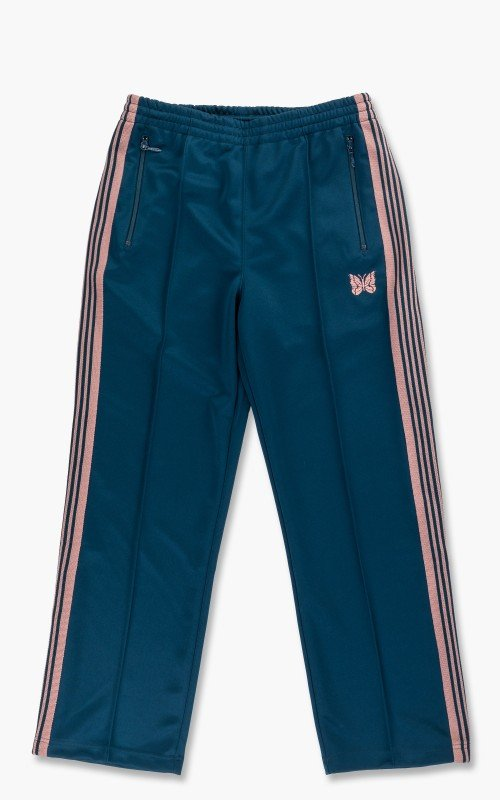 Needles Track Pant Poly Smooth Teal Green