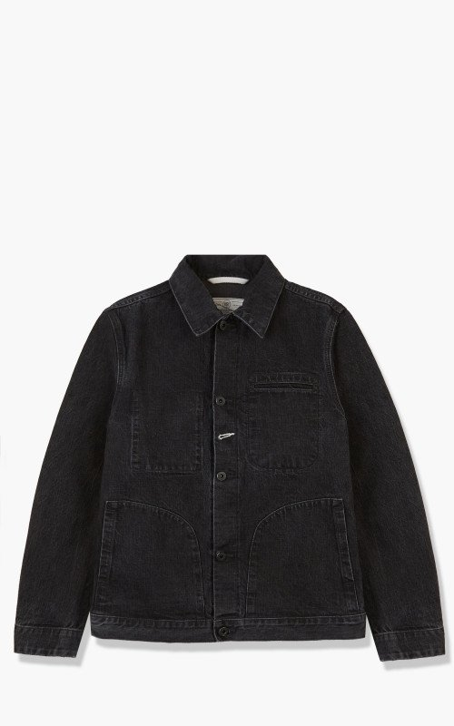 Rogue Territory Supply Jacket Stealth River Wash
