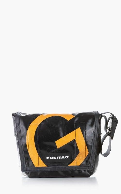 Freitag F11 Lassie Messenger Bag Classic S Black 6-1