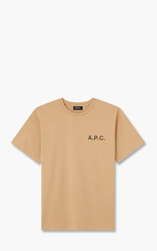 A.P.C. Daniel T-Shirt Beige