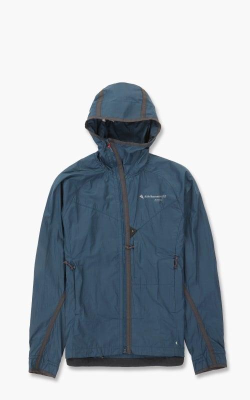 Klättermusen Ansur Hooded Wind Jacket Midnight Blue