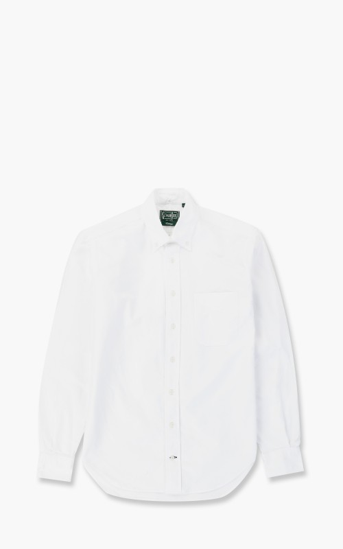 Gitman Vintage Oxford Shirt White