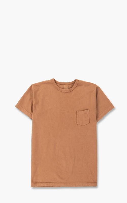 3sixteen Garment Dyed Pocket Tee Clove