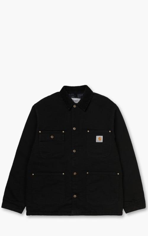 Carhartt WIP OG Chore Coat Black Aged Canvas