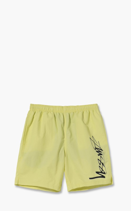Stüssy Smooth Stock Water Shorts Lime