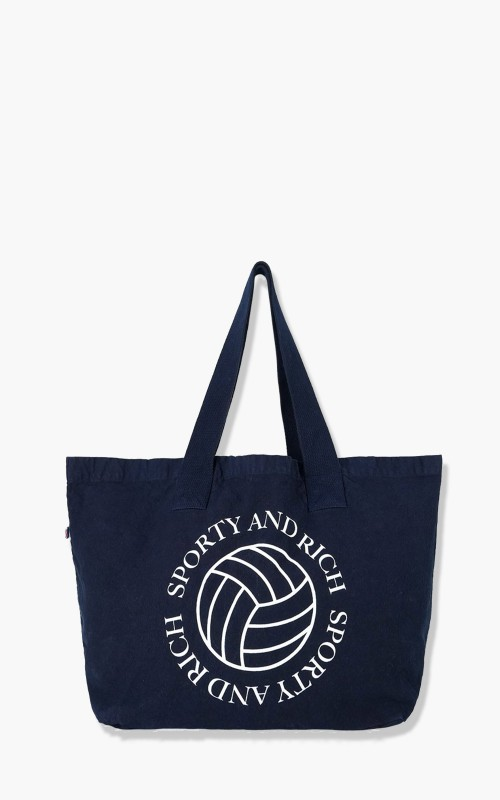 Sporty & Rich Volleyball Tote Navy