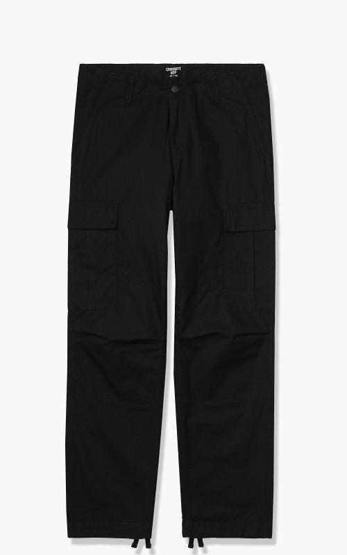 Carhartt WIP Regular Cargo Pant Black Rinsed