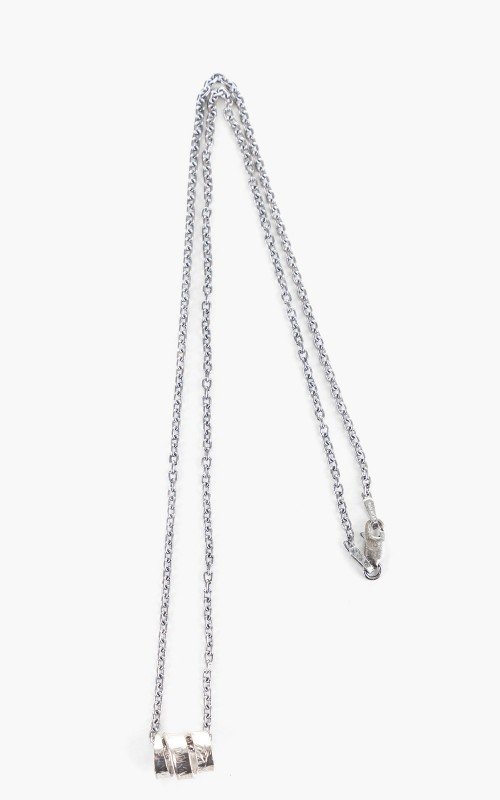 North Works H-062 One Dime Coin Necklace 925 Silver