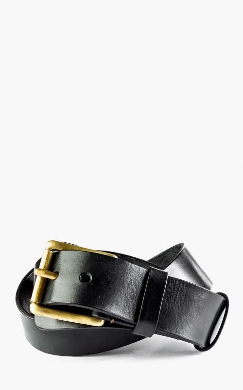 Timeless Leather Craftsmanship Military Belt Black