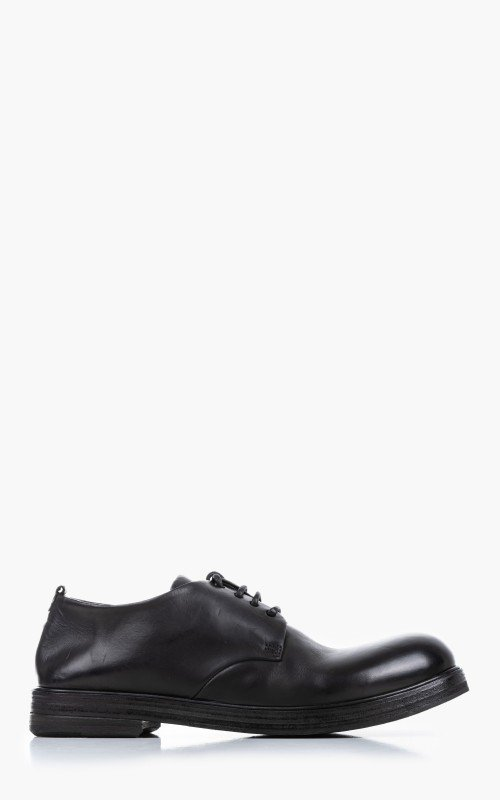 Marsèll Zucca Zeppa Derby Lace-Up Shoes Dried Black