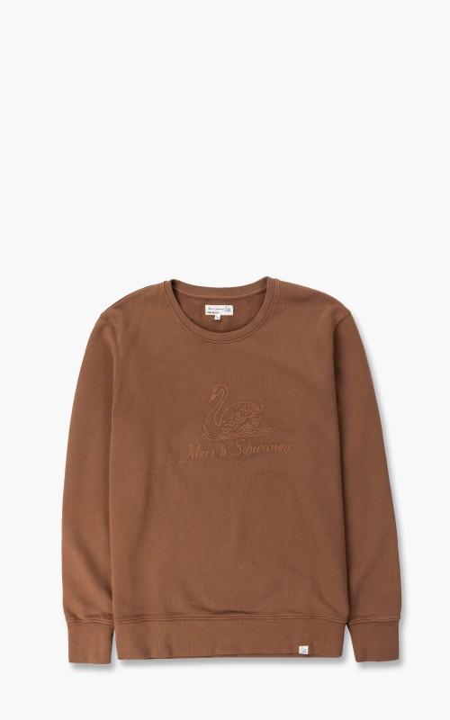 Merz b. Schwanen CSW04 Good Sweatshirt Embroidery Logo Nut